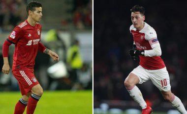 Arsenali dhe Bayern në bisedime për shkëmbimin Ozil – James Rodriguez