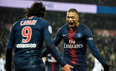PSG i hakmerret Guingampit për eliminim në kupë, fitore prej nëntë golash