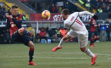 Milani tregon forcën, fiton në udhëtim te Genoa
