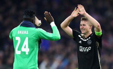 Onana e zbulon bisedën me De Ligt: Ai dëshiron t'i bashkohet De Jongut te Barcelona