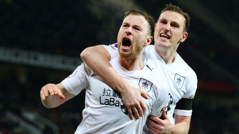 Ashley Barnes .  (Photo by Alex Livesey/Getty Images)