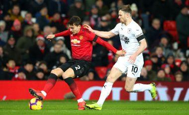 Manchester United vetëm barazimin ndaj Burnleyt dhe atë në kohën shtesë