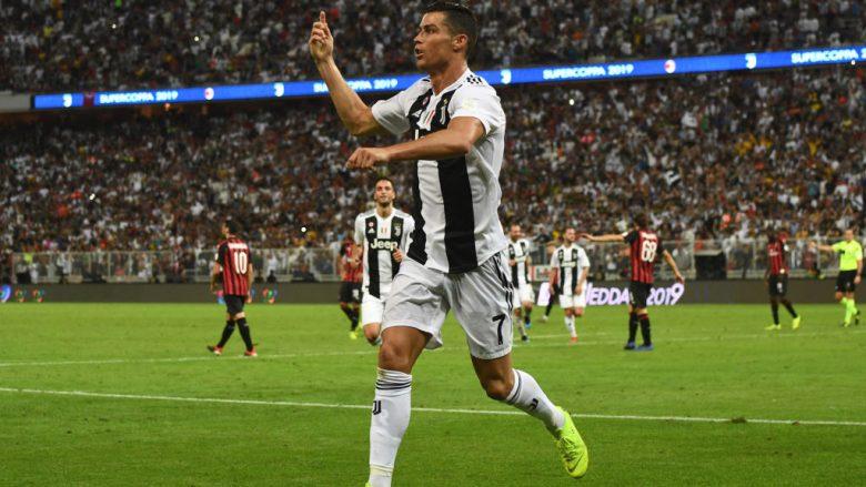 Juventusi mposht Milanin dhe fiton Superkupën e Italisë