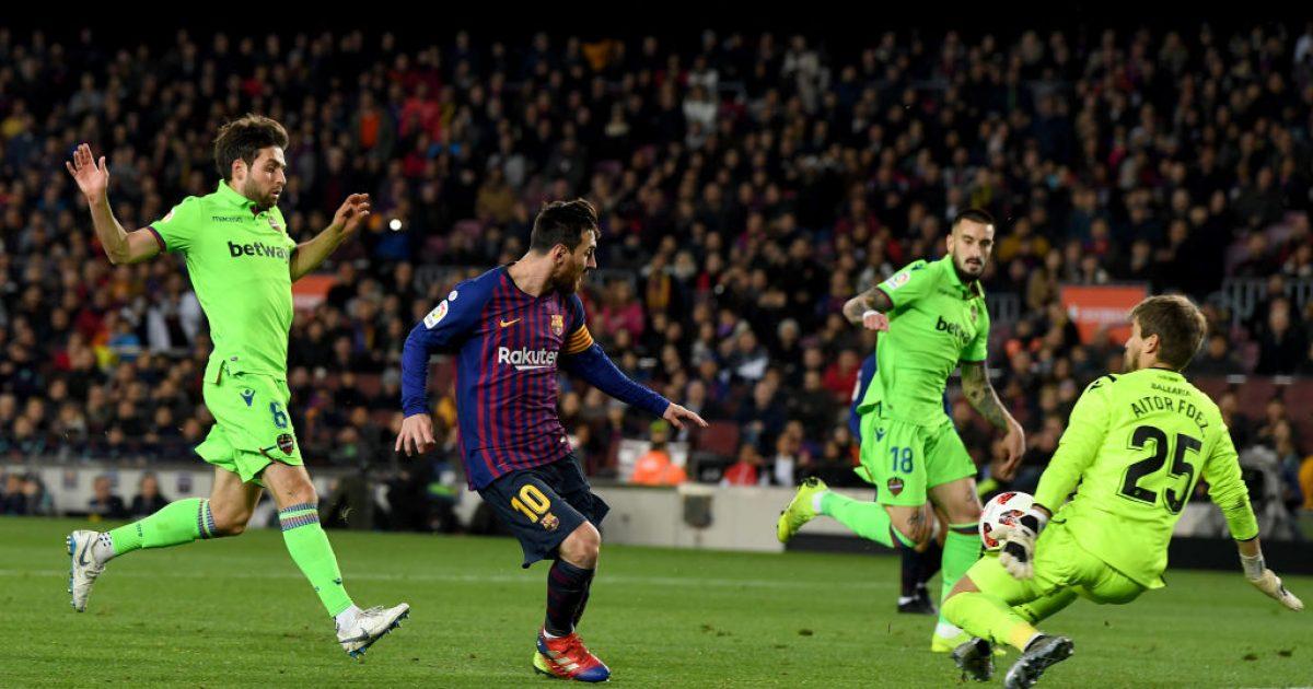 Levante ankohet në CAS për rastin e Copa del Rey kundër Barcës