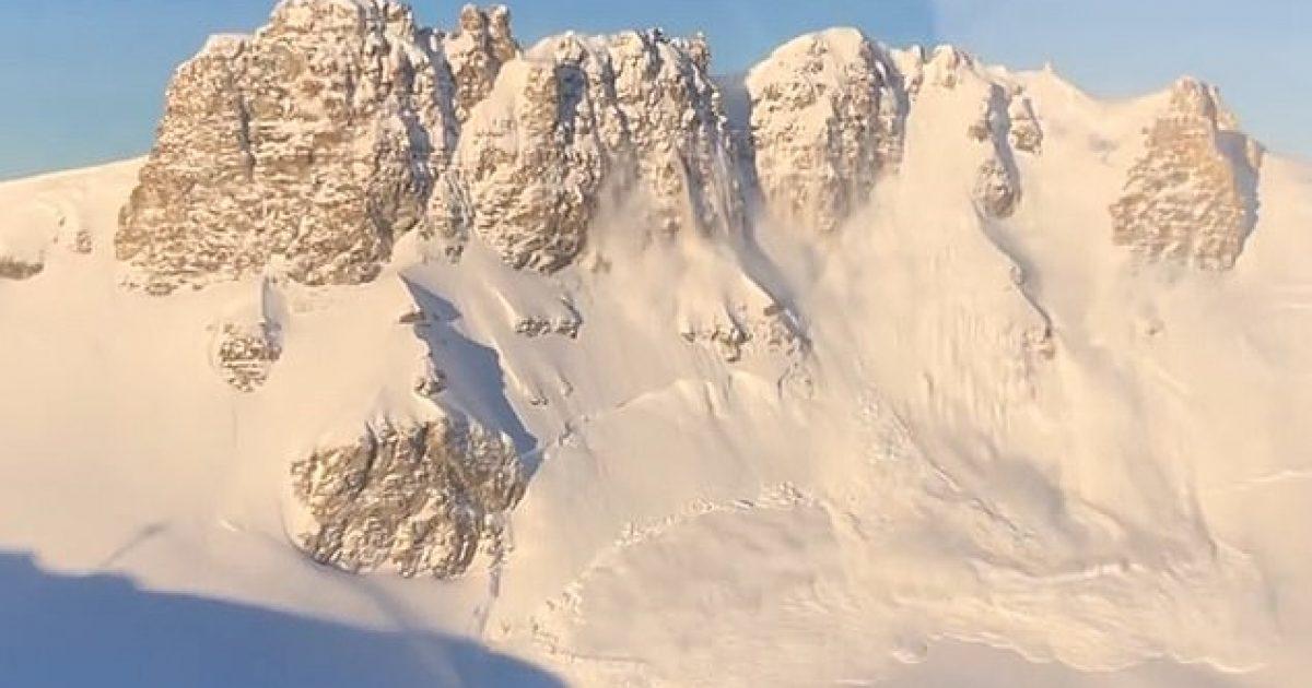 Hodhën eksplozivë prej helikopterit, aktivizuan ortekët pas reshjeve të pandërprera të borës (Video)