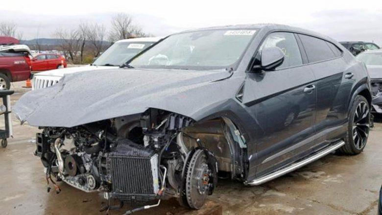I mungon pjesa e përparme, megjithatë Lamborghini Urus kushton 115 mijë dollarë (Foto)