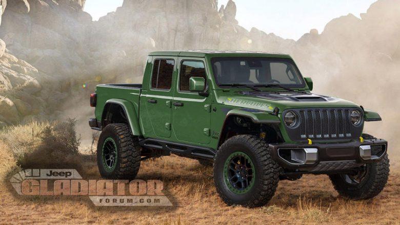 Jeep Gladiator Hercules do të lansohet për të rivalizuar me Ford Raptor (Foto)