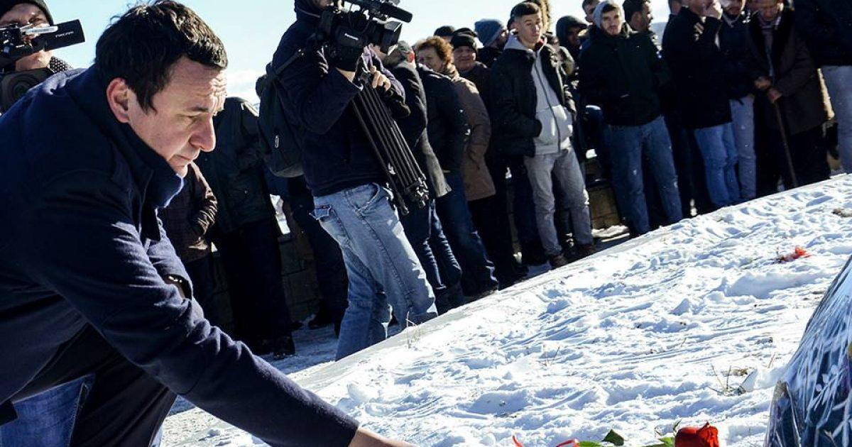 Kurti: Ende nuk është dënuar asnjë polic apo ushtarak serb për masakrën e Reçakut