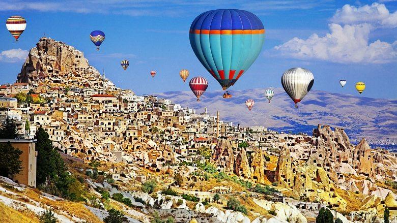 Hot Air Ballons of Cappadocia, Turkey