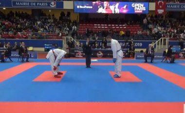 Alvin Karaqi merr një fitore dhe një humbje në Premier Ligën e Parisit, arkëton pikë Olimpike për Tokyo 2020