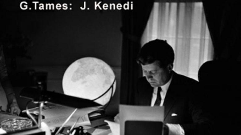 George Tames, fotografi shqiptar i dhjetë presidentëve amerikanë