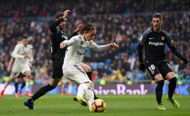 Reali nuk dëshpëron në Bernabeu, triumfon kundër Sevillas