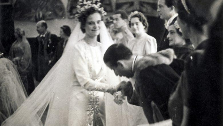 """Fotot e """"harruara"""" të martesës së Zogut me konteshën Geraldine"""