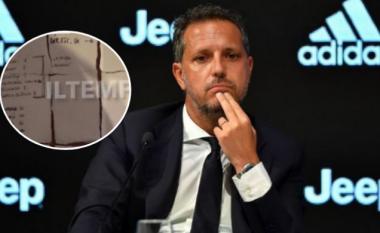 Drejtori sportiv i Juventusit harron në restorant strategjinë e transferimeve të klubit, mediet ia zbulojnë emrat dhe çmimet