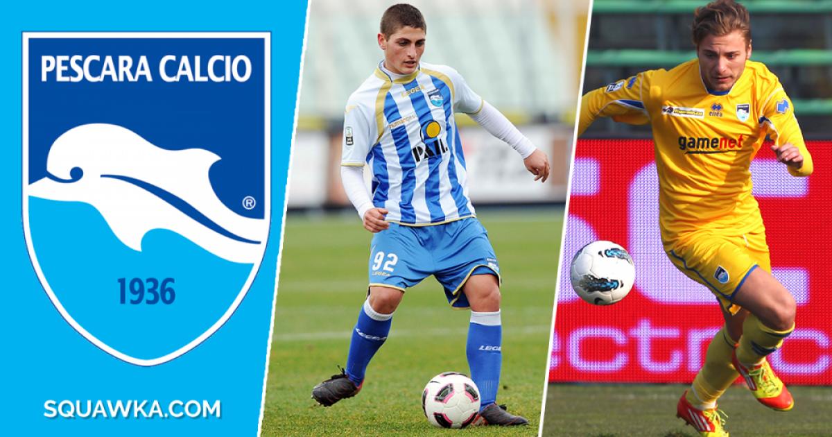 Nga Verratti të Insigne: Nëntë lojtarët që shkëlqyen te Pescara dhe ju mund të mos e keni ditur