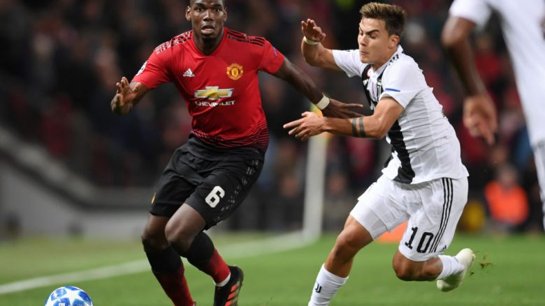 Paul Pogba - Paulo Dybala (Foto: Laurence Griffiths/Getty Images/Guliver)