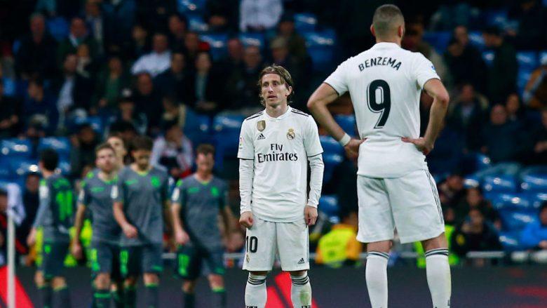 Luka Modric dhe Karim Benzema (Foto: Gonzalo Arroyo Moreno/Getty Images/Guliver)