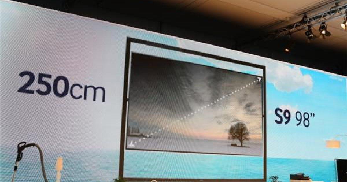 CES 2019: Samsung lanson TV-në gjigant prej 98 inç 8K, njofton telefonin 5G
