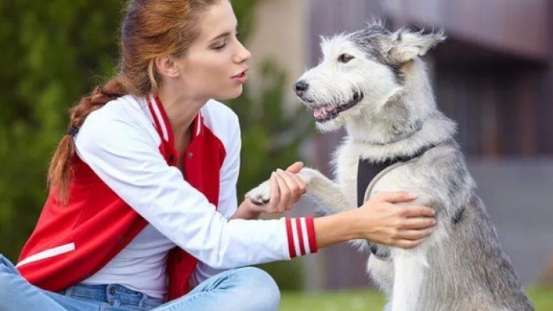 Personat që flasin me kafshët e tyre janë inteligjentë