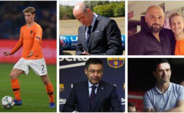 Historia e transferimit të Frenkie de Jong te Barcelona - personat që ndikuan në zgjedhjen e tij dhe mposhtjen e klubeve si PSG e Manchester City në treg