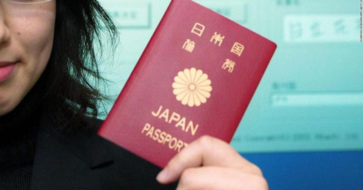 Pasaporta japoneze shpallet më e fuqishmja në botë