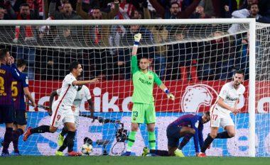 Sevilla mposht Barçën në ndeshjen e parë në çerekfinale të Kupës së Mbretit