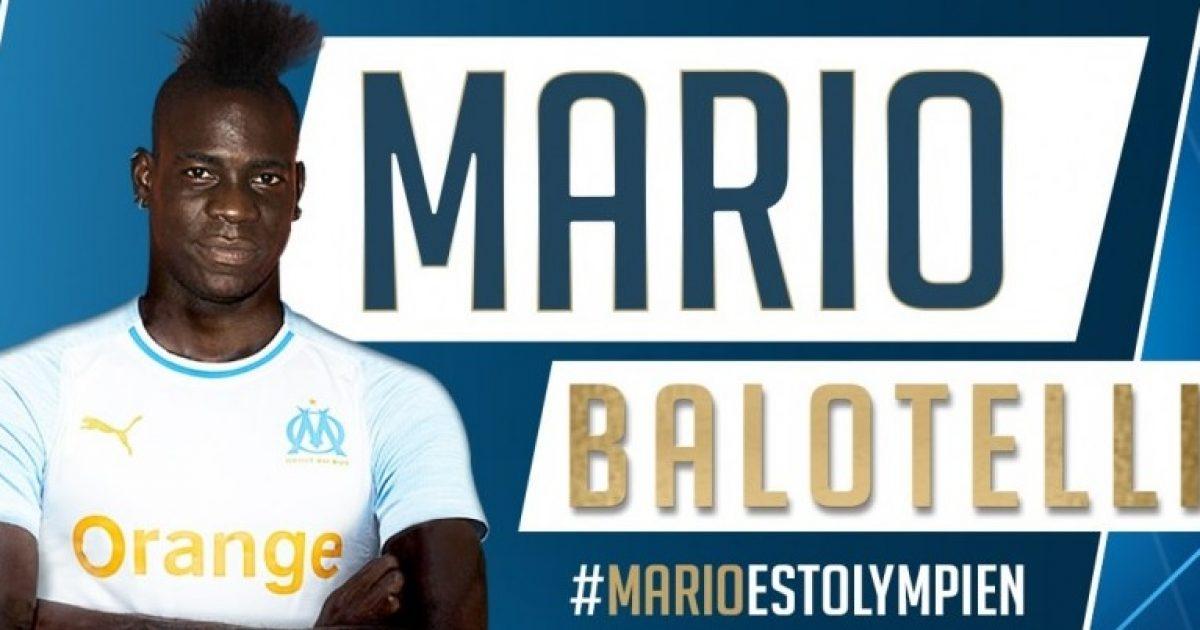 Zyrtare: Balotelli i bashkohet Marseilles