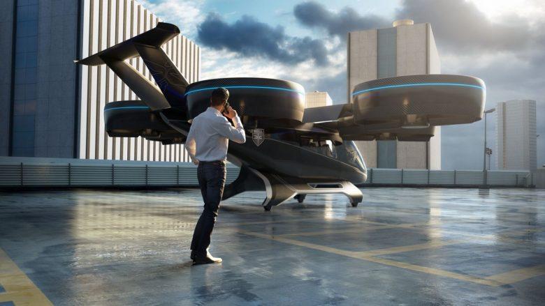 CES 2019: Zbulohet koncept dizajni i taksive fluturues të Uber