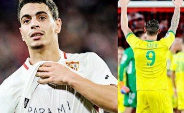 Ben Yedder ia dedikon golin ndaj Barcelonës, sulmuesit të zhdukur Sala: Për vëllanë tim!