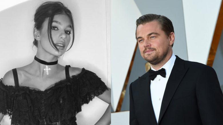 Leonardo DiCaprio momente pasionante me të dashurën 23 vjet më të re