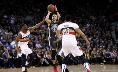 Warriors, Pelicans dhe Curry arritën rekorde të reja të tre pikëshave në NBA