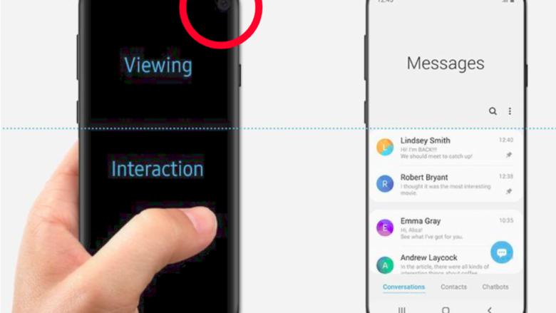 Samsung aksidentalisht poston imazhet zyrtare të Galaxy S10