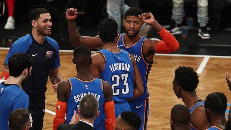 Oklahoma fiton në udhëtim, Lakers befasohen në shtëpi