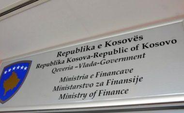 Ministria e Financave: Në mbledhjen e Qeverisë do të shqyrtohet vendimi për ndarje të buxhetit për organizatat buxhetore