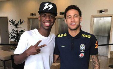 Vinicius Jr: Dua të luaj me Neymarin, te Real Madridi ose Brazili