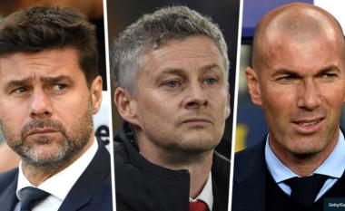 Solskjaer, Pochettino, Zidane dhe 12 trajnerët tjerë që mund ta drejtojnë Unitedin në sezonin e ardhshëm