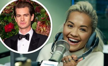 Rita Ora vihet në siklet kur pyetet për lidhjen me Andrew Garfieldin