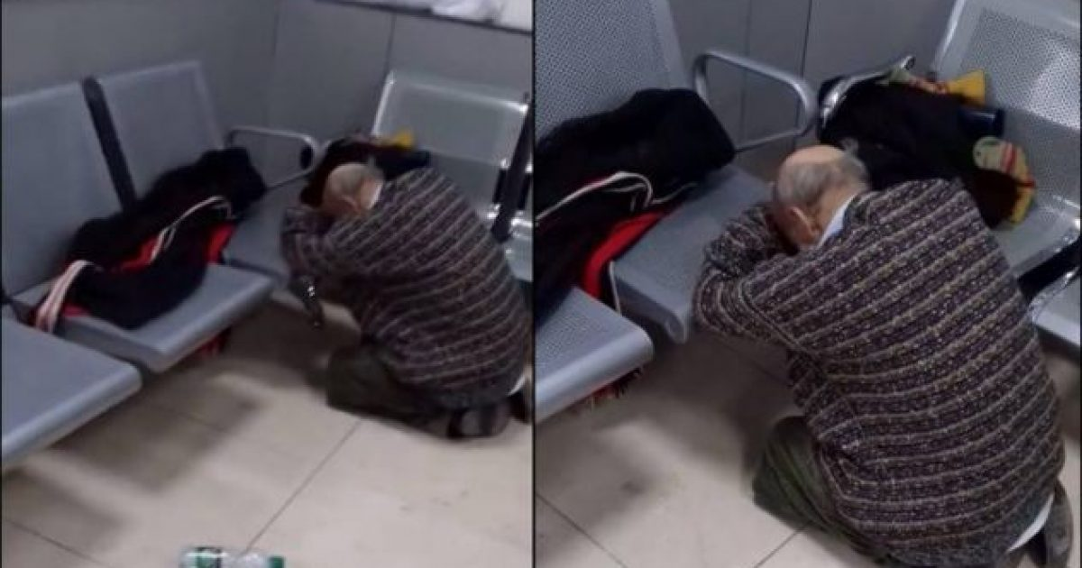 Një qytetar publikon pamjet, thotë se i moshuari nuk mori për orë të tëra trajtimin në Emergjencën e QKUK-së (Video)