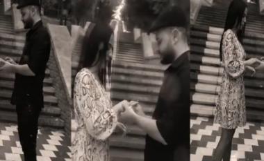 Skerdi më nuk e fsheh romancën, publikon videon e fejesës me Vesa Ramën