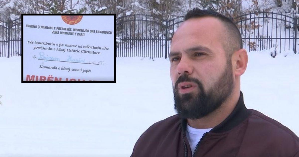 Ish-ushtarëve të UÇPMB-së nuk u njihet statusi i veteranit, paralajmërojnë protestë para Qeverisë (Video)