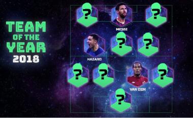 Fansat e UEFA-s zgjedhin ekipin e vitit 2018, nuk mungojnë yje si Modric, Messi dhe Ronaldo