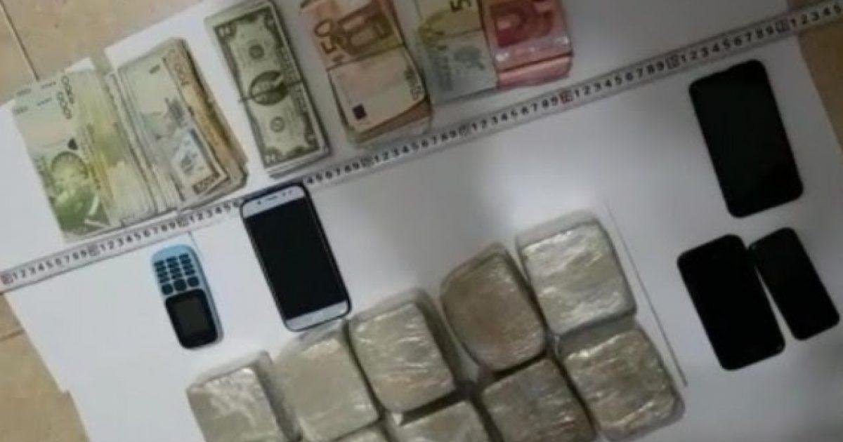 Operacioni anti-drogë në Durrës, katër të arrestuar