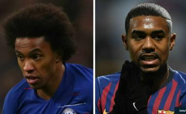 Chelsea refuzon ofertën e Barcelonës me para dhe Malcom për Willianin