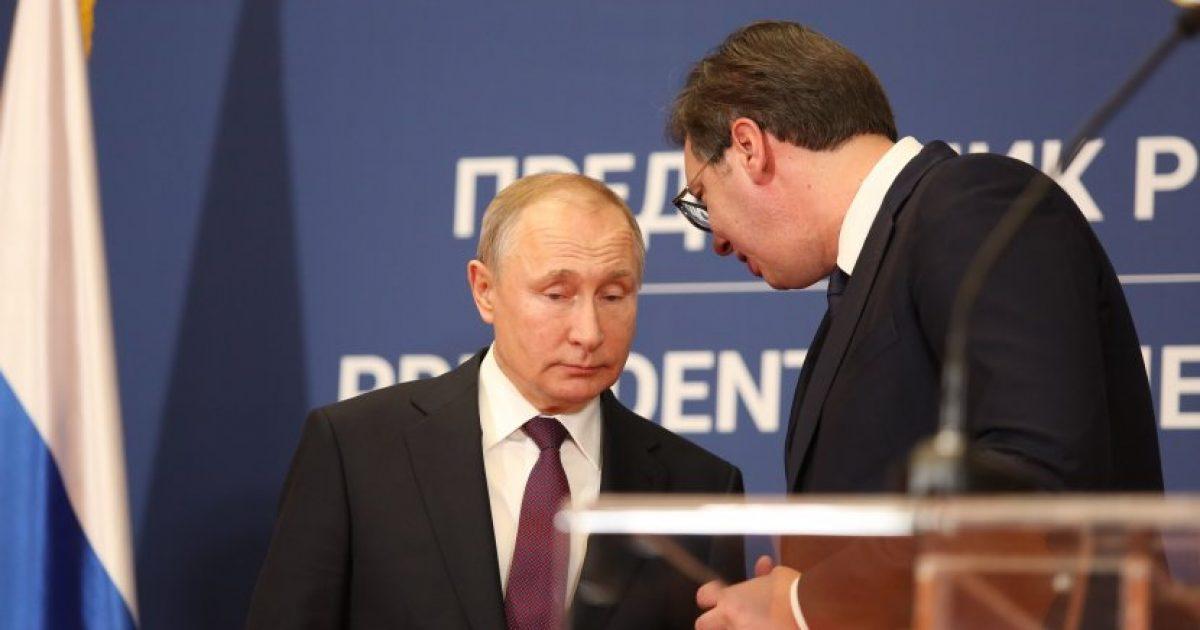 Putin në Beograd: Pozicioni i Rusisë në raport me Kosovën është i njohur