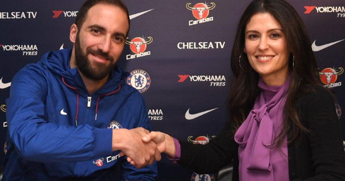 Zyrtare: Higuain i bashkohet Chelseat