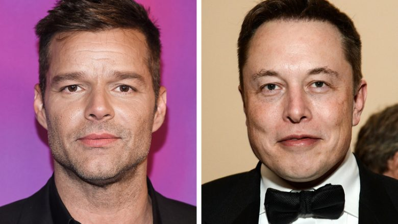 Ricky Martin and Elon Musk — 47 years old