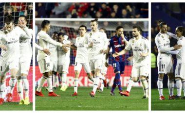 Sjellja e Gareth Bale tregon momentin e tij të keq që po kalon te Real Madridi: Refuzoi të ngrohet, shtyn Vazquezin dhe nuk feston me lojtarët