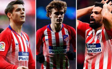 Atletico Madridi ka pasur gjithmonë sulm të frikshëm, por aktuali ndoshta është më i miri i të gjitha kohërave