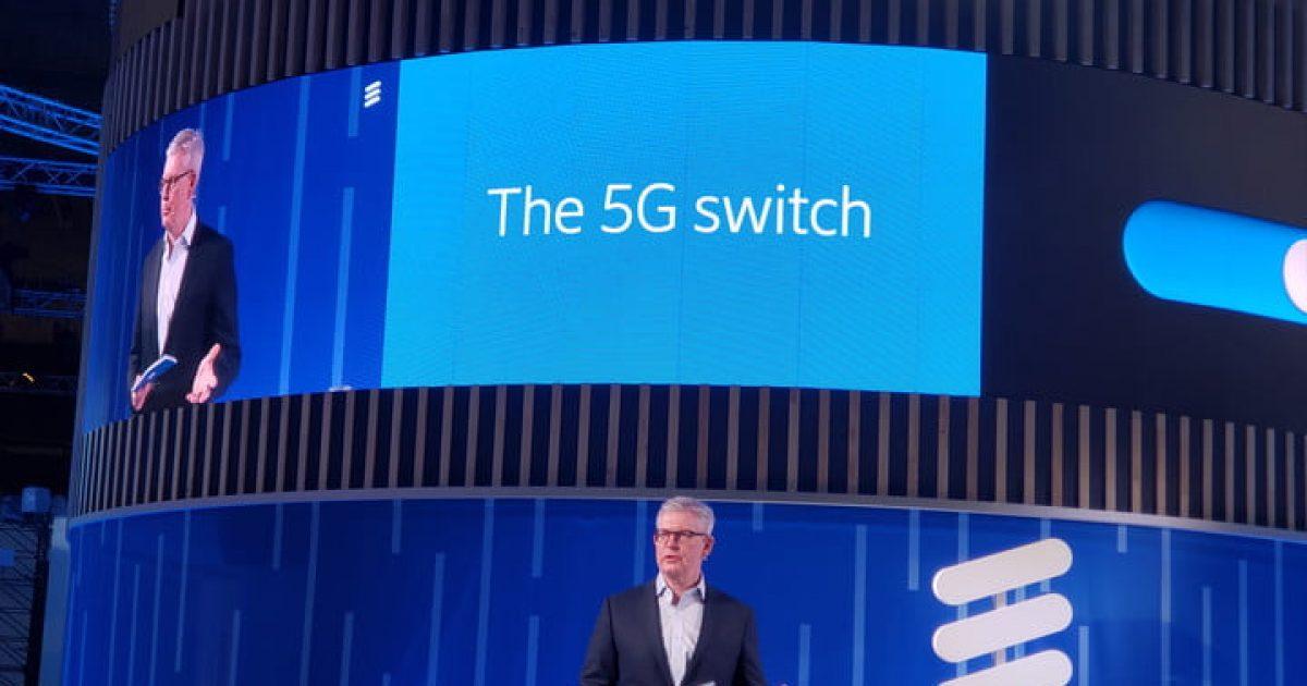MWC: Ericsson po lanson rrjetin 5G në kohën reale, njofton CEO Ekholm