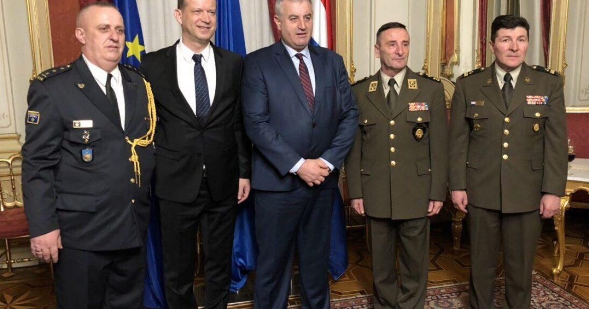 Ministri Rrustem Berisha në Kroaci, pro thellimit të bashkëpunimit në fushën e sigurisë